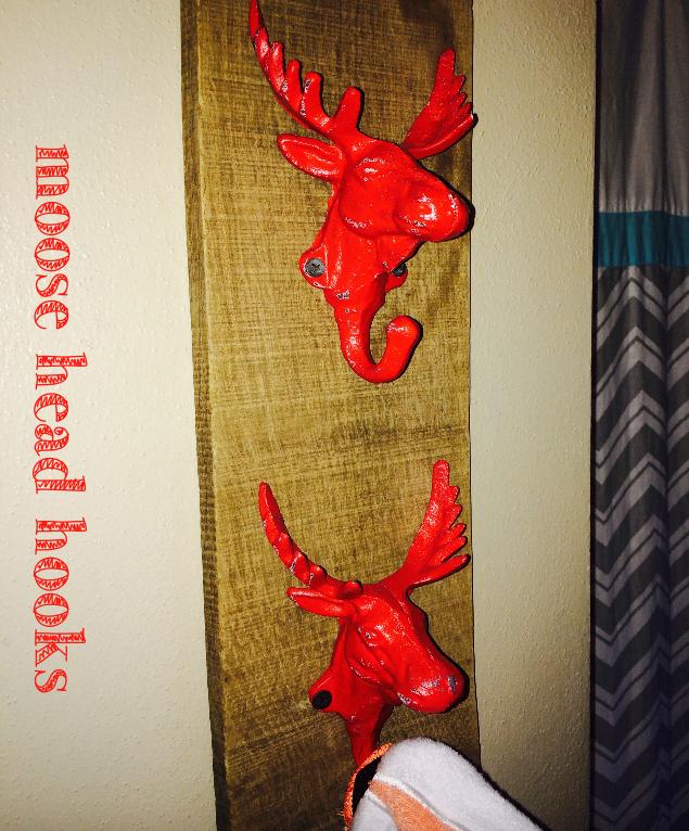 Moose Head Hooks